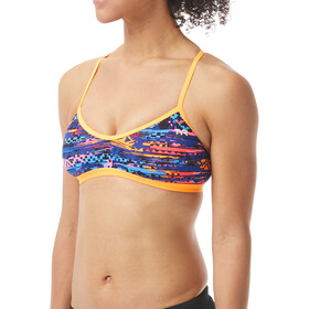 TYR Kiowa Trinity Bikini Top Donna, orange/multi
